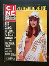 CINE REVUE 1973 N°47 dany danyel sean connery mary pickford dany carrel