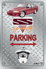 Pop A Top - Wall Mount Bottle Opener Metal Sign - BROCK HDT VN SS DRUID RED