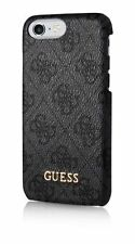 Genuine Guess Uptown 4G Hard Case for iPhone 7 Plus GREY - Retail Packed