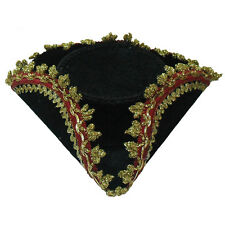 Ladies Mini Tricorn Hat Dick Turpin Pirate Fancy Dress Accessory
