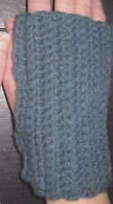 Crochet Pattern ~ LADIES PRETTY RIBBED HAND WARMERS ~ Instructions