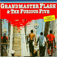 Grandmaster Flash & The Furious Five - White Lines 1983 Sugarhill Records Teldec