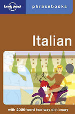Maurice Riverso Italian: 2 (Lonely Planet Phrasebook) Very Good Book