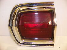 1966 PLYMOUTH SPORT FURY TAILLIGHT HOUSING & LENS LH OUTER #2606163