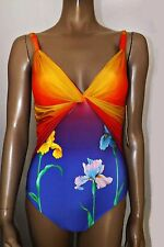 GOTTEX IRIS ROBOT FLOWER ONE PIECE SWIMSUIT SIZE UK 10 RRP £175