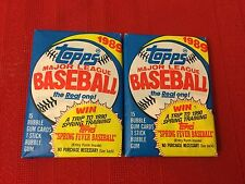 TWO 1989 Topps Major League Baseball 15 Bubble Gum Cards & 1 Stick Bubble Gum