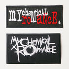 MY CHEMICAL ROMANCE MCR - Patch SET OF TWO Iron-On Patches - UK - FREE POST