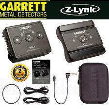 GARRETT METAL DETECTORS Z-LYNK z link Wireless Headphone System NEW
