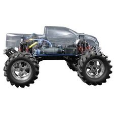 Traxxas TRA4911 Original Wheelbase Clear Body T-Maxx .15/2.5/3.3(4909&4910 only)