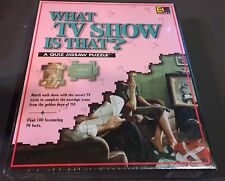 "Sealed ""WHAT TV SHOW IS THAT?"" Quiz Jigsaw Puzzle, 252 Diabolical Pieces"