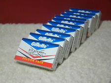 100x Blades Gillette Wilkinson Sword Double Edge Safety Razor Blades Free Ship