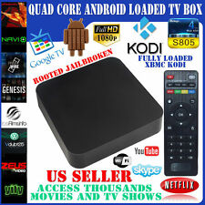 ANDROID 4.4 Quad Core SMART TV Box Fully Loaded and Fully Unlocked 1080P MX2