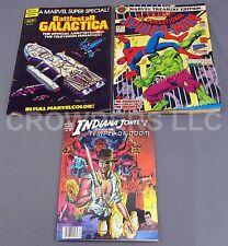 Marvel Super Special Battlestar Galactica & Indiana Jones + Spider-Man #27 78-84