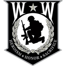 Wounded Warrior Sheild Small Pin