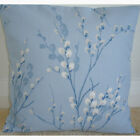 "NEW 20"" Cushion Cover Laura Ashley Pussy Willow Seaspray Blue Ivory Designer"