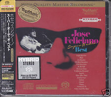 """""""Jose Feliciano - Super Audio Best"""" Limited Numbered Stereo Hybrid SACD DSD CD"""