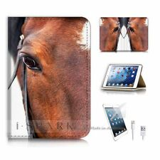 iPad Mini Gen 1 2 3 Flip Wallet Case Cover! S8715 Horse
