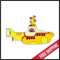 The Beatles Yellow Submarine logo Decal Sticker Rock and Roll Window Car Wall