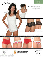 Jalie 2568 Misses & Girls Underwear - Camisole & Panties Sewing Pattern 27 Sizes