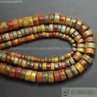 """Natural Colorful Picasso Jasper Gemstone Heishi Beads 2mm 3mm 4mm 6mm 8mm 16"""""""