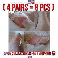 US SELLER BABY FOOT PEELING 4 PAIRS RENEWAL MASK REMOVE DEAD SkIN EXP 2019