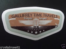 Gallifrey Dr Who Sticker Laptop Phone Motorbike Camper Decks Skateboard Helmet