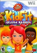 Nintendo Wii Kid Fit Island Resort VideoGames