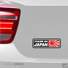 (1124) Fun sticker pegatina/Made in Japan JDM StickerBomb Rising Sun