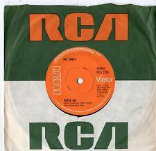 """The Sweet - Poppa Joe / Jeanie 7"""" Single 1972"""