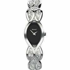 New Ladies Sekonda Seksy Swarovski Crystal Set Bracelet Watch 4230