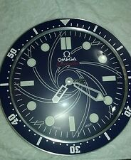 Omega Seamaster James Bond 007 Wall Clock