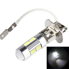 1Pcs Car Auto H3 LED Bulbs 10-SMD 5630 High Beam White Driving Fog Lights DC 12V