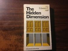 The Hidden Dimension by Edward T. Hall Paperback 1969