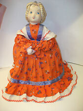 Vintage Large Cloth Russian Samovar Doll