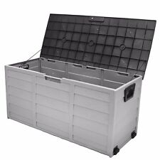 all weather uv Pool Deck Box Storage shed bin Backyard Patio Porch Outdoor new
