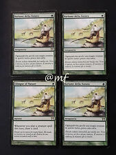 SET 4X BARLUME DELLA NATURA - GLIMPSE OF NATURE GOOD   - MTG MAGIC [MF]
