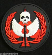 CALL OF DUTY PVC GLOW GITD TASK FORCE 141 BLACK OPS RED VELCRO® BRAND PATCH USA