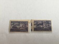 US General George Patton 3 Cent Stamps - Purple - 2 Set