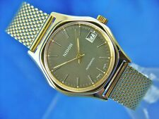 Retro Gents NOS Vintage Nidor Automatic Watch Circa 1970s Swiss New Old Stock