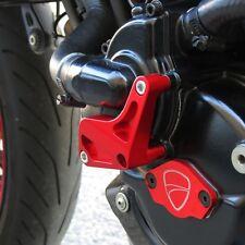 DUCATI 748/916/996/998 pompa acqua TAMPONI PARATELAIO PROTEZIONE protezione del motore Rosso Nuovo