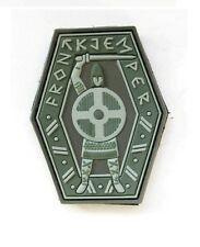 NORWEGIAN FRONTKJEMPER MORALE 3D PVC RUBBER PATCH, The FRONT-FIGHTERS PATCH #675