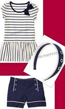 NWT Gymboree CIAO PUPPY Three Piece LOT Shorts Top & Headband 6