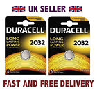 *Cheapest* 2 X Duracell CR2032 3V Lithium Button Battery Coin Cell DL2032 FAST