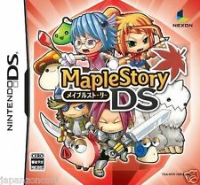 Used DS  Maple Story  NINTENDO JAPANESE IMPORT