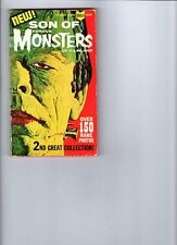 Wow! Son Of Famous Monsters Of Filmland Pocket Book! Early issue reprints! Rare!
