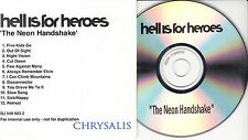 HELL IS FOR HEROES The Neon Handshake UK 12-trk internal promo test CDR
