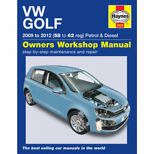[5633] VW Golf MK6 1.4 Petrol 1.6 2.0 Diesel 2009-12 (58 to 62 Reg) Haynes Works