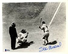 Stan Musial Autographed Signed 8x10 Photo St. Louis Cardinals Beckett BAS