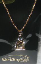 NEW Castle Main Street Swarovski Crystal✿Necklace✿Arribas Disney World Authentic