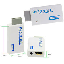 Mini Wii To HDMI 720P/1080P Upscaling Converter Adapter with 3.5mm Audio Output2